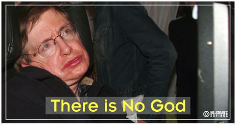 Stephen Hawking Claims That There Is No God!